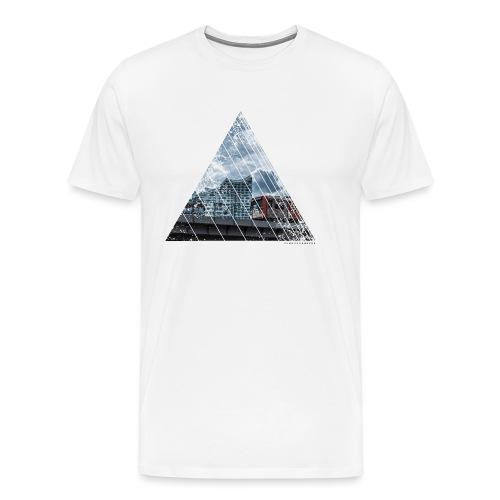Hamburg Stadt Licht Harmony - Männer Premium T-Shirt