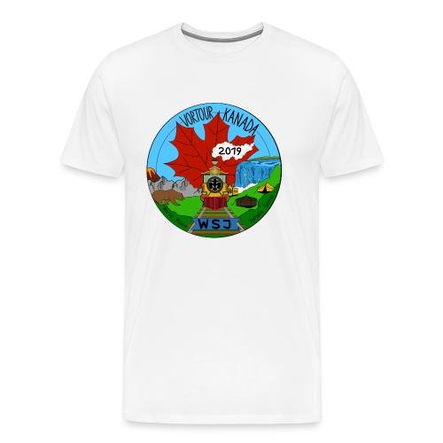 Vortour Kanada - Männer Premium T-Shirt