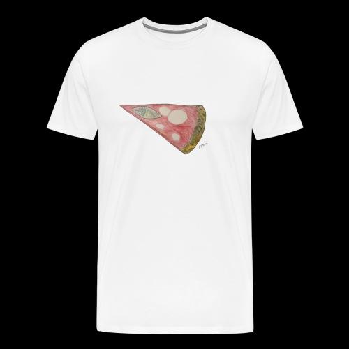 BY TAiTO Pizza Slice - Miesten premium t-paita