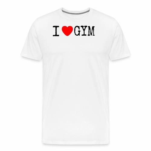 LOVE GYM - Maglietta Premium da uomo