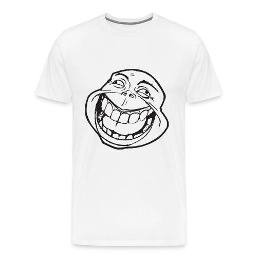 meme face not really by xarity d4es290 png - Mannen Premium T-shirt