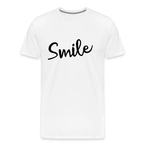 Smile - Männer Premium T-Shirt