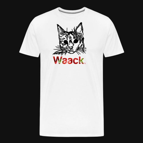 strawberryl cat png - Men's Premium T-Shirt