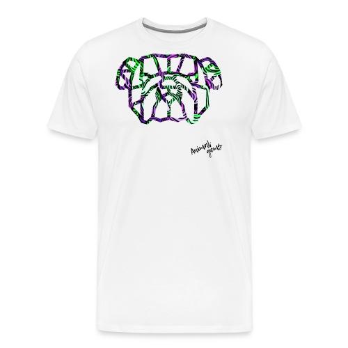 Bulldog waves - Camiseta premium hombre