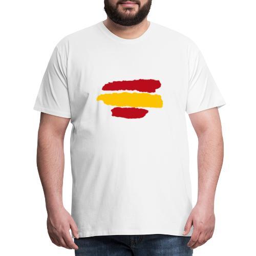 Bandera España - Camiseta premium hombre