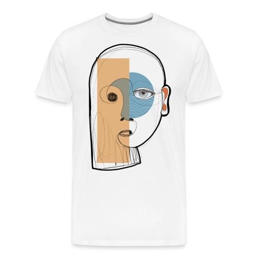 portrait - Maglietta Premium da uomo