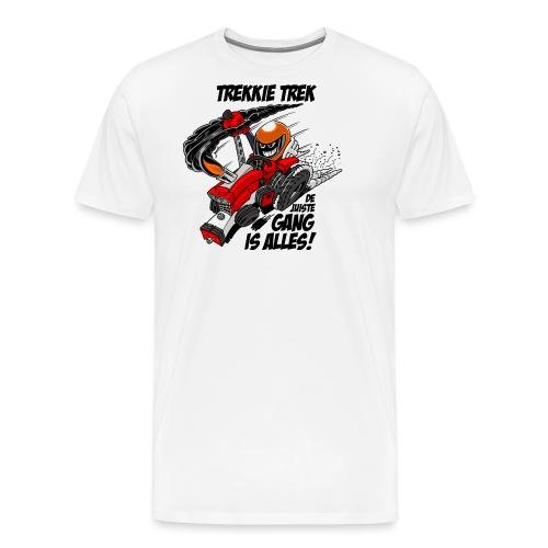 0966 trekkie trek - Mannen Premium T-shirt