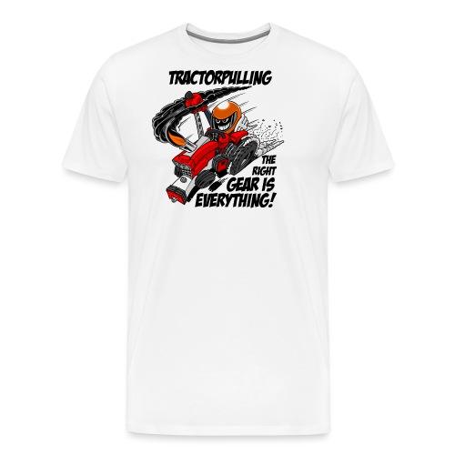 0966 tractorpulling - Mannen Premium T-shirt