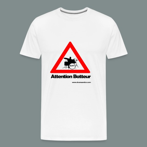Attention batteur - T-shirt Premium Homme