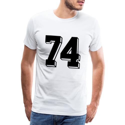 Football 74 - Men's Premium T-Shirt