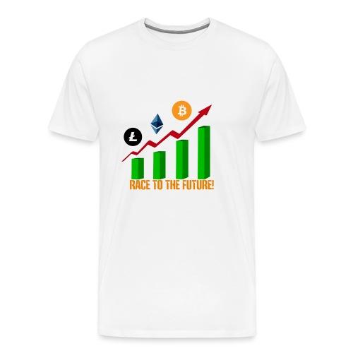 race to the future btc - Camiseta premium hombre