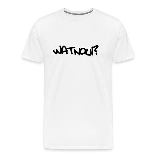 watnou - Mannen Premium T-shirt