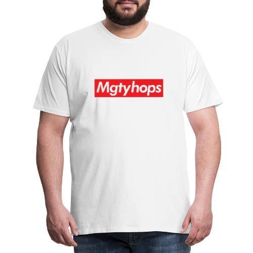 Mgtyhops Red bar - Premium-T-shirt herr