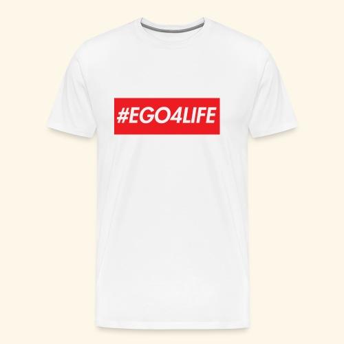 EGO4LIFE - Premium T-skjorte for menn