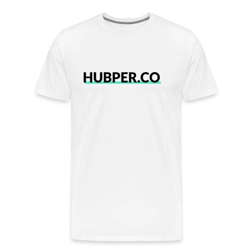 Hubper.co - The Original - Mannen Premium T-shirt