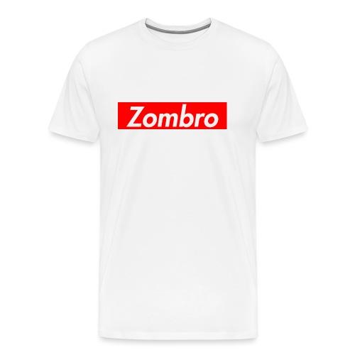zombreme png - Herre premium T-shirt