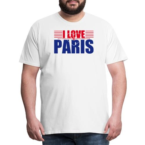 love paris - T-shirt Premium Homme