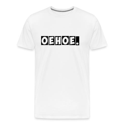 Oehoe_1_kleur - Mannen Premium T-shirt