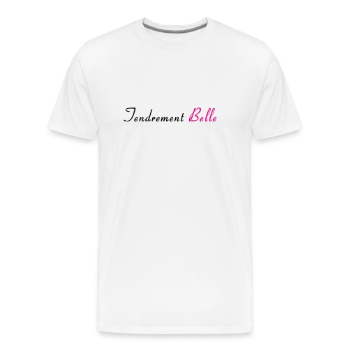 Tee-shirt tendrement belle - T-shirt Premium Homme