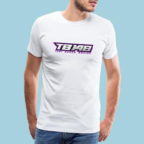 Tob Logo Lila - Männer Premium T-Shirt