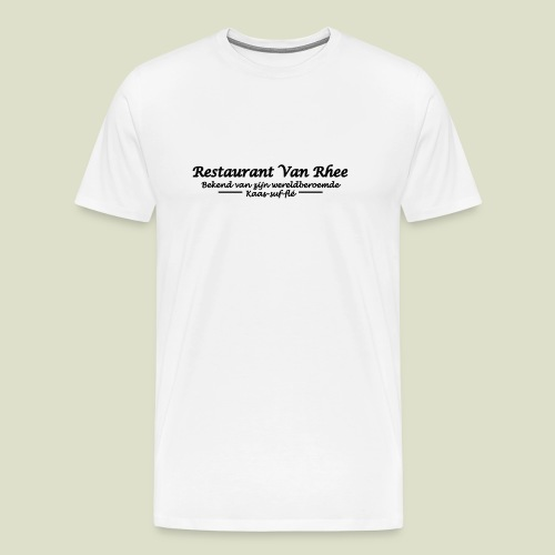 Van Rhee Kaas-suf-fle - Mannen Premium T-shirt
