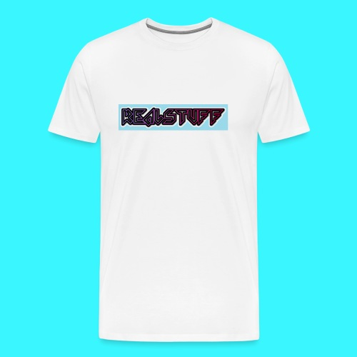 RealStuff Hoesje - Mannen Premium T-shirt
