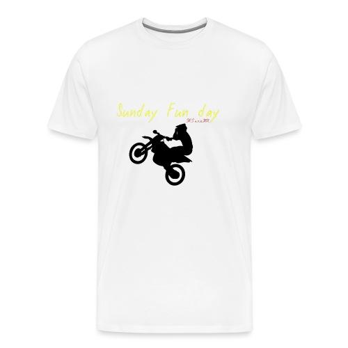 sunday funday 2 - T-shirt Premium Homme