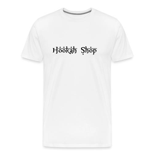 Das Legendäre Hookah Shop Logo in schwarze Schrift - Männer Premium T-Shirt