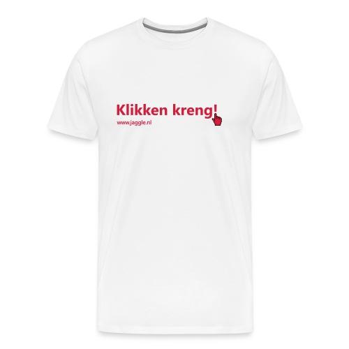 Klikken kreng - Mannen Premium T-shirt