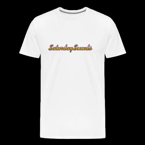 SaturdaySounds Hoes voor lPhone 5/5s. - Mannen Premium T-shirt