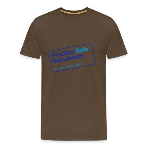nssshirtpractisesafesecularism - Men's Premium T-Shirt