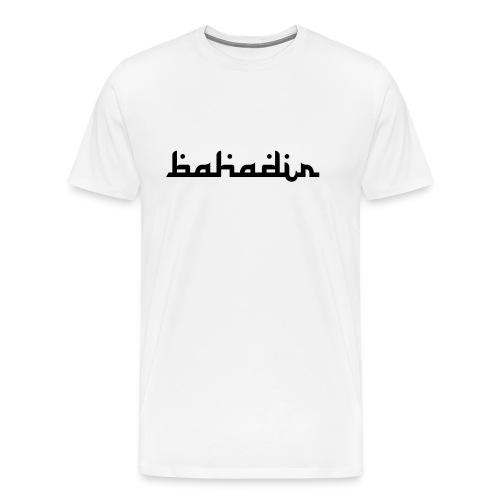 bahadir logo1 png - Männer Premium T-Shirt