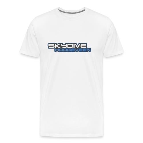 Logo Skydive Hoogeveen png - Mannen Premium T-shirt