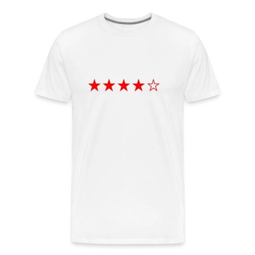 4/5 STARS - T-shirt Premium Homme