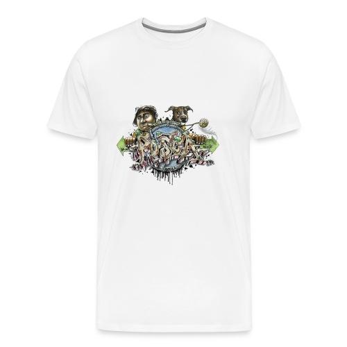 Mainbattle mind21 - Männer Premium T-Shirt