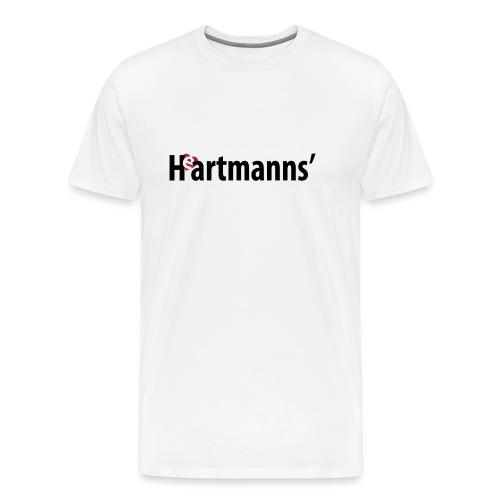 Heartmanns Schriftz. schw - Männer Premium T-Shirt