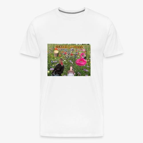 Sulleslotsblog - Herre premium T-shirt
