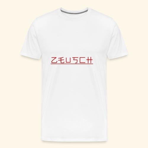 Zeusch Logo - Mannen Premium T-shirt