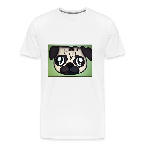 Pugly boss - Men's Premium T-Shirt