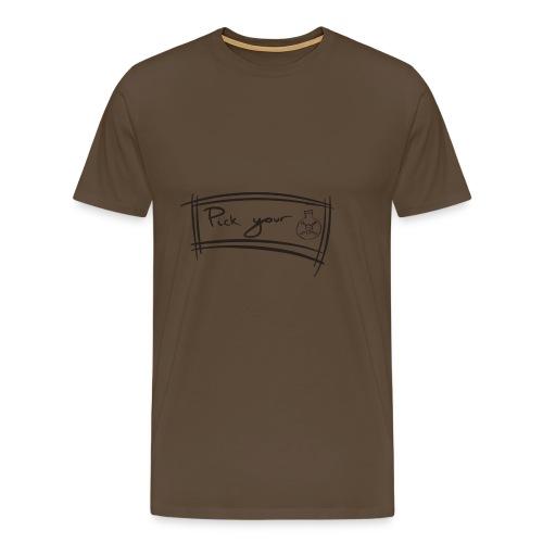 Pick Your Poison - Men's Premium T-Shirt