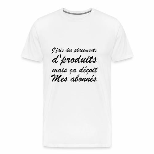 Abonnés ? | Punchline - Placements de Produits - T-shirt Premium Homme