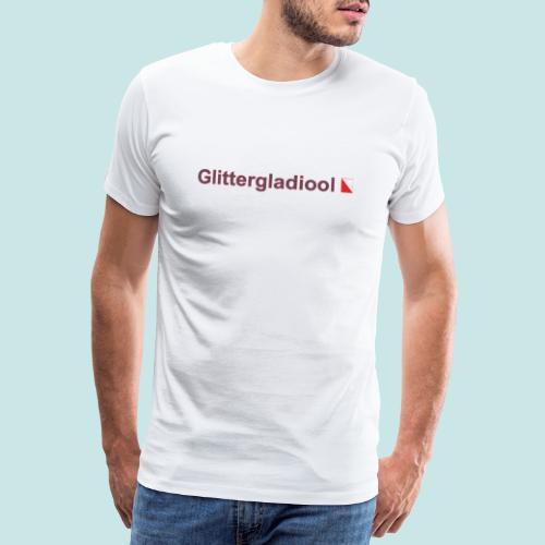 Glittergladiool hori def b - Mannen Premium T-shirt