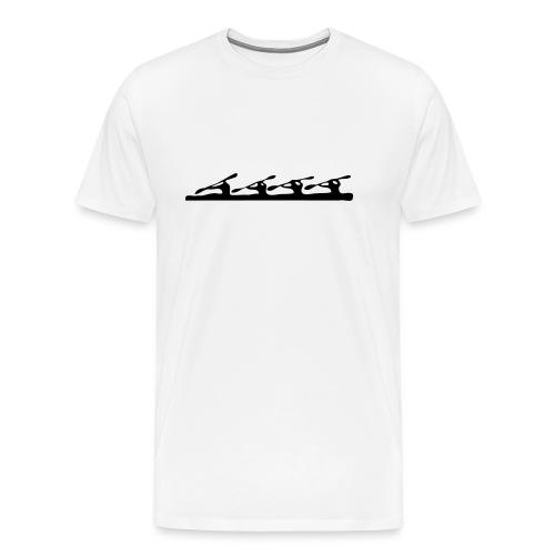 Kayak k4 - Men's Premium T-Shirt