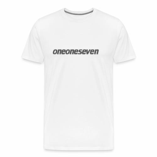 oneoneseven v1 - Männer Premium T-Shirt