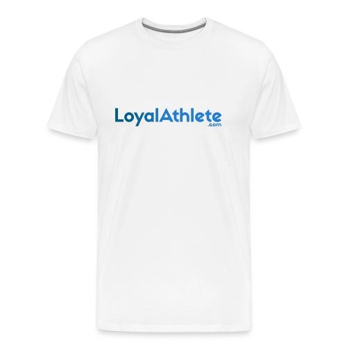 Loyal athlete banner - Men's Premium T-Shirt