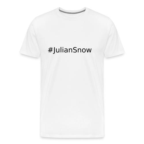 #JulianSnowBlack - Koszulka męska Premium