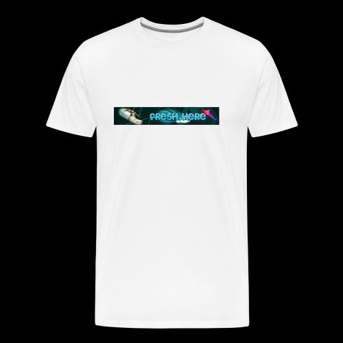 fresh here - Camiseta premium hombre