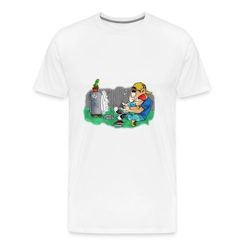 BoarderMax Gamer - Männer Premium T-Shirt