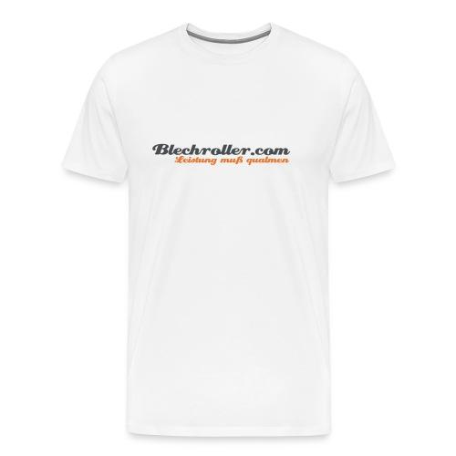 blechroller logo - Männer Premium T-Shirt
