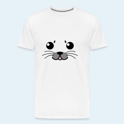 Foca bebé (Cachorros) - Camiseta premium hombre